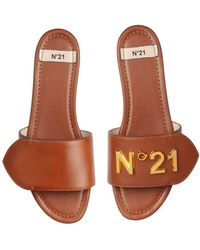 N°21 Logo Slides - Brown