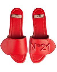 N°21 Logo Slides - Red