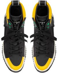 N°21 High-top Sneakers - Black