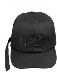 N°21 Casquette à logo - Noir
