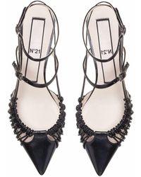 N°21 Sandales à bride cheville - Noir