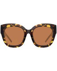 N°21 Tortoiseshell Logo Sunglasses - Black
