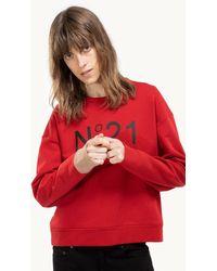 N°21 Logo Sweatshirt - Rouge