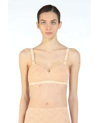 N°21 Stretch-Lace Bra - Neutre