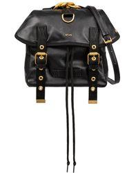 N°21 Logo Backpack - Black