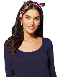 New York & Company - Printed Headband - Lyst