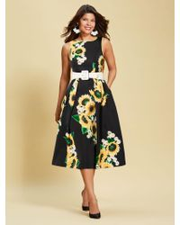 New York & Company - Eva Mendes Collection - Felicity Fit And Flare Dress - Lyst