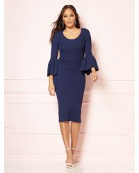 75fc6041aa5a4 New York   Company - Frieda Sweater Dress - Eva Mendes Party Collection -  Lyst