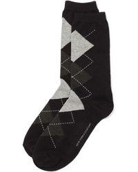 New York & Company - Crew Sock - Argyle - Lyst