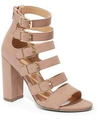 c35973dbd070 New York   Company - Buckle-accent Strappy Sandal - Lyst