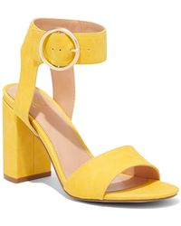 New York & Company Ankle-strap High-heel Sandal - Yellow