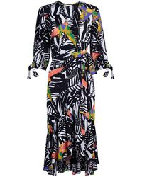 New York & Company Cassidy Dress - Eva Mendes Collection - Multicolor