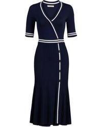 New York & Company Olga Sweater Dress - Eva Mendes Collection - Blue