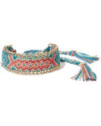 New York & Company - Tassel-accent Wrap Bracelet - Lyst