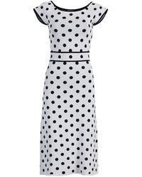 New York & Company Rebecca Dress - Eva Mendes Collection - White