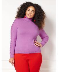 New York & Company - Eva Mendes Collection - Nia Turtleneck Sweater - Plus - Lyst
