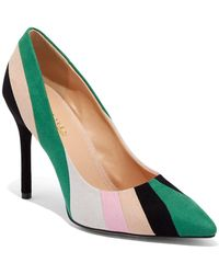 New York & Company Colorblock Pump - Eva Mendes Collection - Green