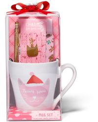 New York & Company 5-piece Cat-themed Gift Set - Pink