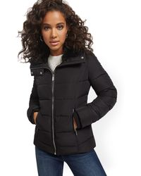 New York /& Co Womens Reprevear Seamed Jacket