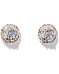 New York & Company - Dazzling Silvertone Post Earring - Lyst