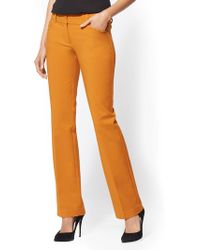 New York & Company - 7th Avenue Pant - Barely Bootcut - Modern - All-season Stretch - Lyst