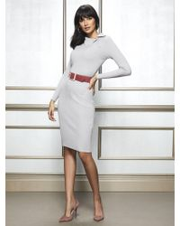 07d8a8c01fb New York   Company - Cherie Sweater Dress - Eva Mendes Collection - Lyst