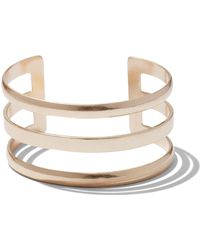 New York & Company - 3-row Open Cuff Bracelet - Lyst