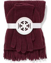 New York & Company - 3-piece Honeycomb Hat, Scarf & Glove Set - Lyst