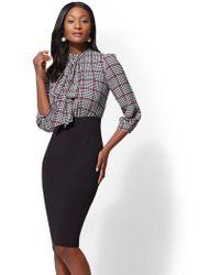 New York & Company - 7th Avenue -twofer Sheath Dress - Lyst
