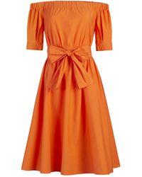 New York & Company Lisette Dress - Eva Mendes Collection - Orange