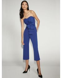 New York & Company - Strapless Jumpsuit - Gabrielle Union Collection - Lyst