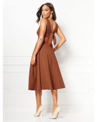 9d2893c51ae3 New York & Company Eva Mendes Collection - Ivy Strapless Dress - Lyst