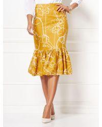 fdbada8b1fc38 New York   Company - Violetta Flounced Skirt - Eva Mendes Collection - Lyst