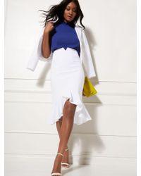 110d64fbc New York & Company Seamed Pencil Skirt - All-season Stretch - 7th Avenue in  Black - Save 50% - Lyst