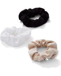 New York & Company - 3-piece Hair Scrunchie Set - Lyst