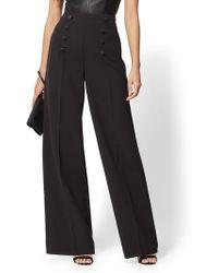 New York & Company - 7th Avenue Pant - Tuxedo Palazzo Pant - Lyst