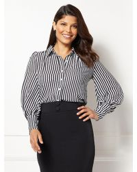 Lyst New York Company Eva Mendes Collection Reva Striped