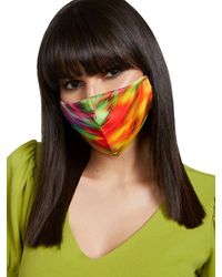 New York & Company Multicolor Airbrush Face Mask
