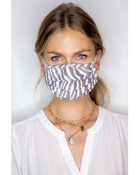 NYDJ Protective Face Mask In Kenya Zebra - Multicolor