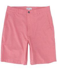 Peter Millar Shackleford Hybrid Gingham Short - Pink