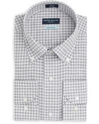 Peter Millar - Moon Valley Chambray Sport Shirt - Lyst