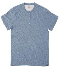 Faherty Brand - Heather Henley Shirt - Lyst