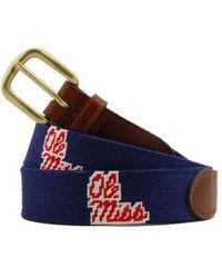 Smathers & Branson Collegiate Belt - Blue