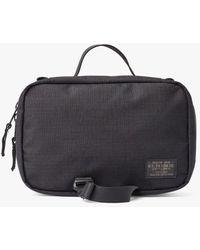 Filson Ripstop Travel Pack Nylon Bag - Black