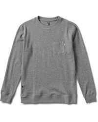 Vuori Jeffreys Pullover - Gray