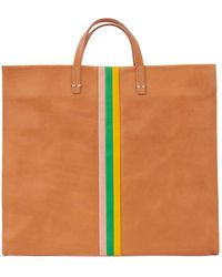 Clare V. Simple Tote - Natural