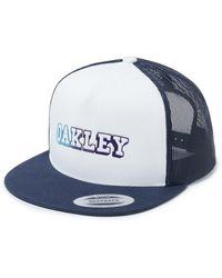 Oakley Mesh Gradient Cap - Bleu
