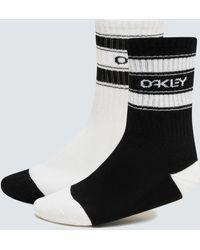 Oakley B1b Socks (2 Pcs Pack) - Black