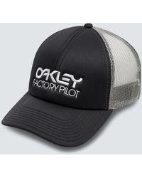 Oakley Factory Pilot Trucker Hat - Schwarz
