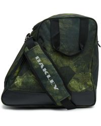 Oakley Geo Camo P. Snow Boot Bag - Verde